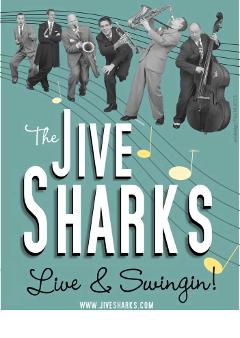 Jive Sharks Plakat 5a