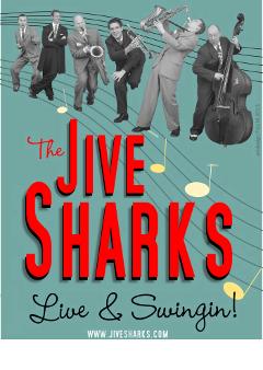 Jive Sharks Plakat 5b